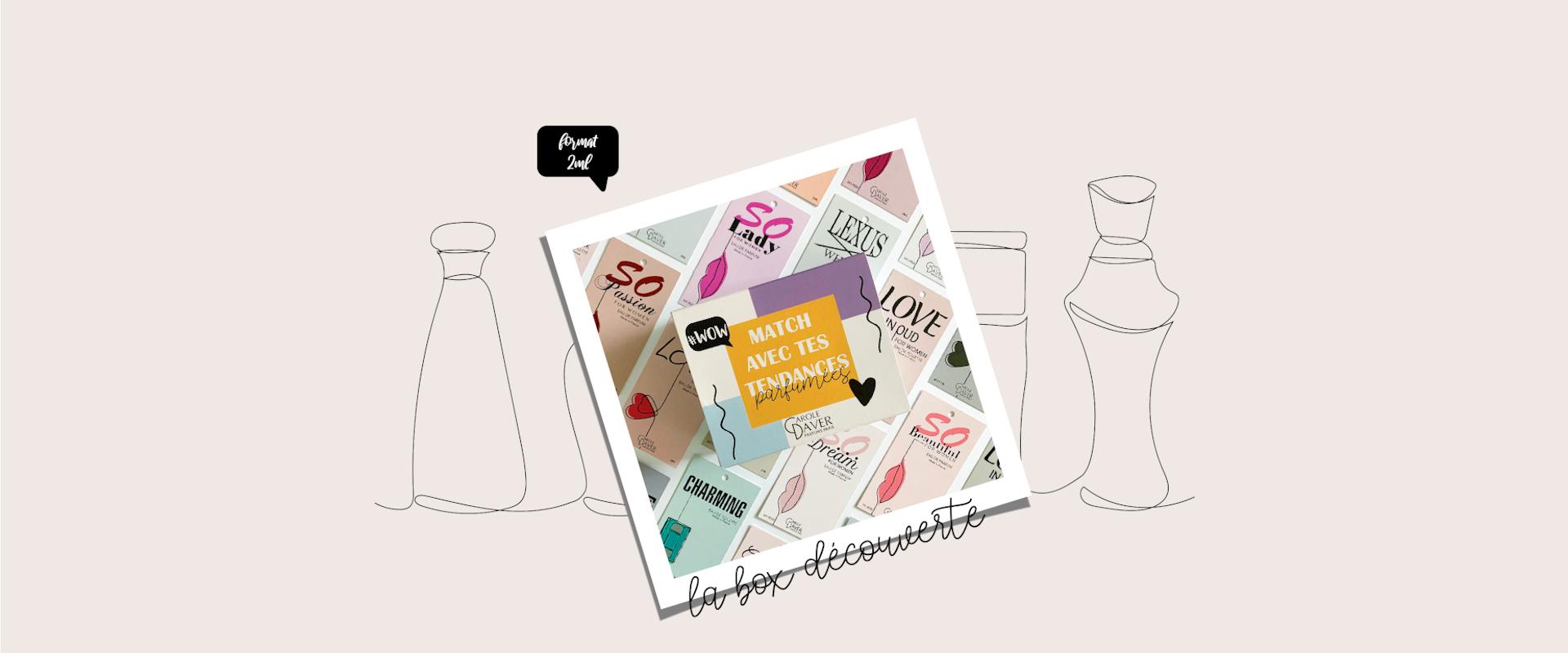 La box découverte | Carole Daver Parfums